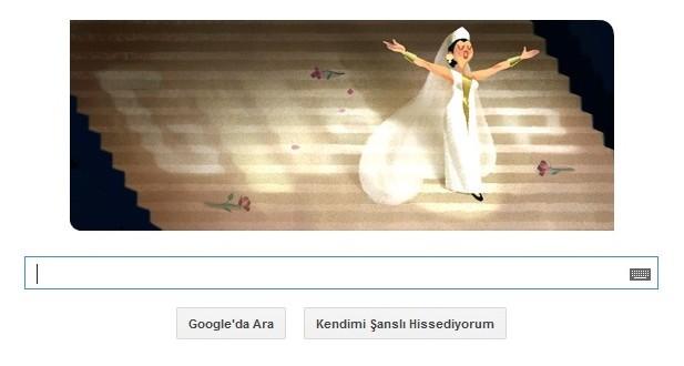 Google Leyla Gencer'i Unutmadı