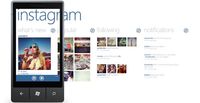 Windows Phone İçin Instagram Nihayet Geldi