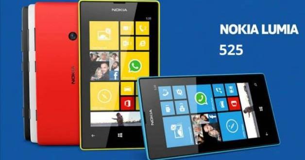 Nokia Lumia 525 Hakkında Herşey (Resimli)