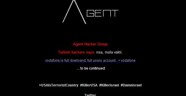 Vodafone İzlanda Türk Hackerler Tarafından Hacklendi