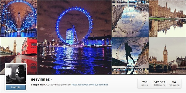 Instagram'da Sezgin Yılmaz Fenomeni