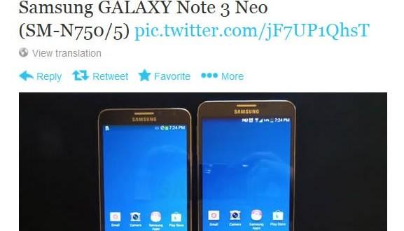 Huzurlarınızda Samsung Galaxy Note 3 Neo
