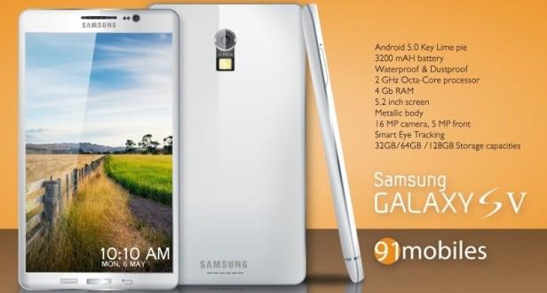 Galaxy S5 Retina Tarayıcılı mı?