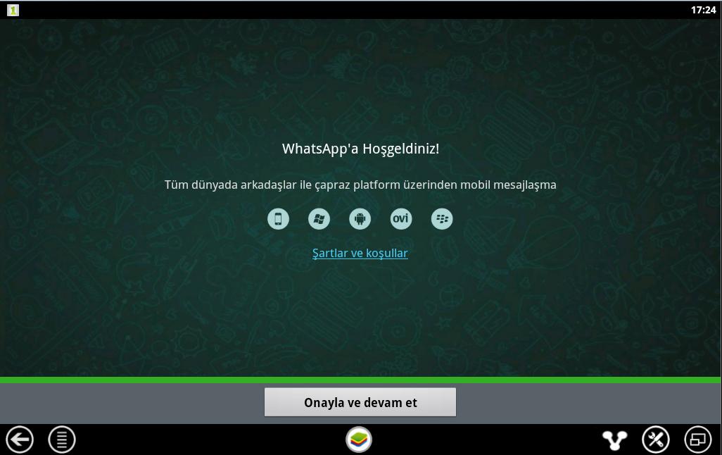 whatsapp ilk ekran