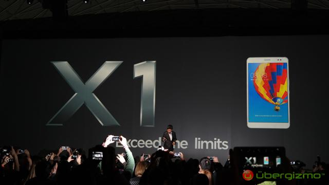 Huawei MediaPad X1 tablet