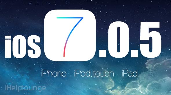 IOS 7.0.5 ve IOS 7.0.4 İçin JailBreak Yayınlandı