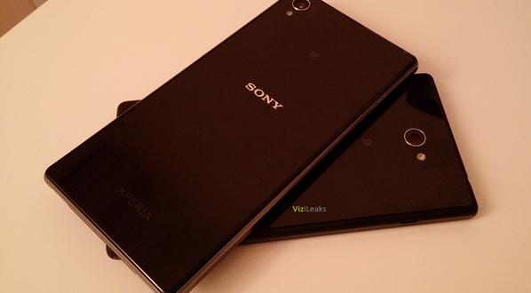 Sony Xperia G Göründü