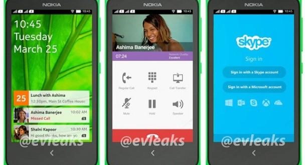 Android'li Nokia X A110