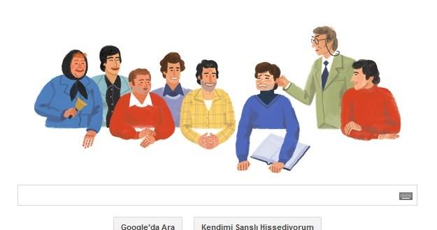 Google Ünlü Yönetmen Ertem Eğilmez'i Unutmadı