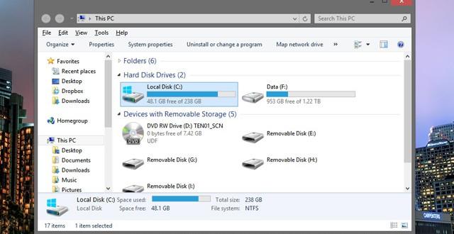 Windows 7 Görünümünü, Windows 8'e Taşıyın