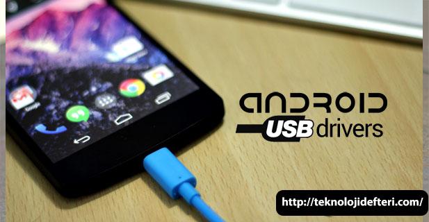 Android USB Sürücüleri, Samsung, HTC, ASUS, Sony, LG ve diğer cihazlar için (Windows)
