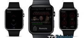 Apple Watch'u uzaktan kumanda gibi kullanın!