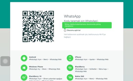 Whatsapp'ı Bilgisayardan Kullanmak