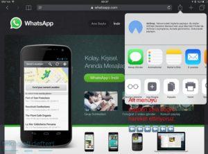 Whatsapp web kullanımı