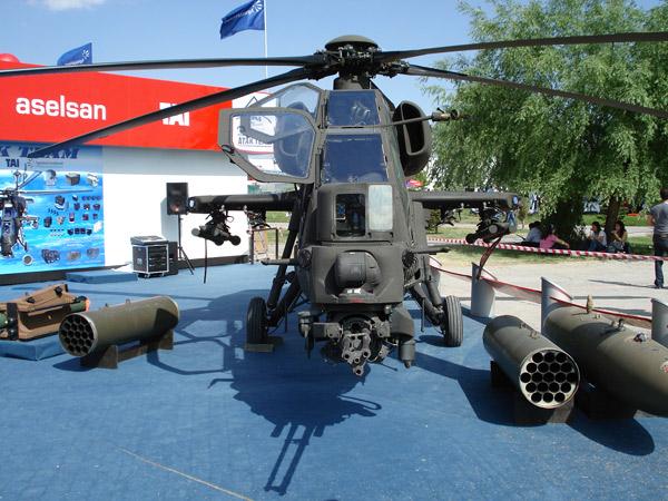 Türk Yapımı Taarruz Helikopteri Üretildi