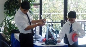 Türk Lise Öğrencilerinin Robot tasarımı