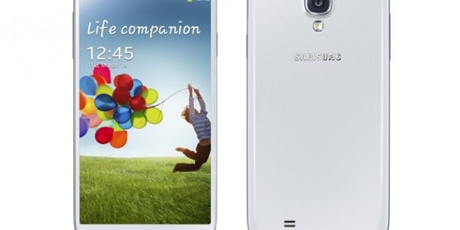 Huzurlarınızda Galaxy S4