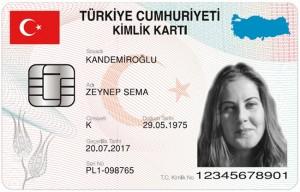 elektronik kimlik karti turkiye
