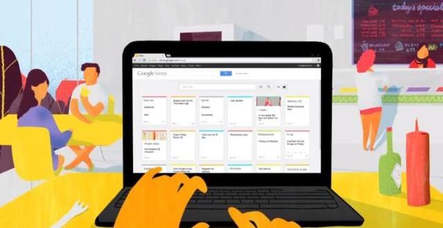 Google Keep Resmi Olarak Hizmete Girdi
