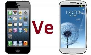 galaxy s4 ve iPhone 5