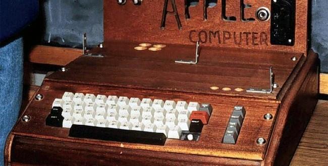 İlk Apple Bilgisayara 500 Bin Euro Ödediler