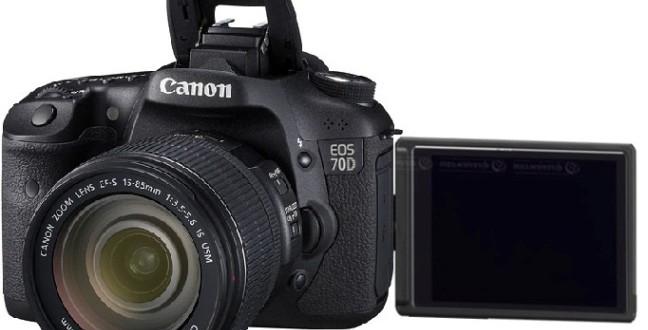 Canon EOS 70D Bomba Gibi Geliyor