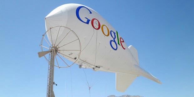 Google Balon Geliyor