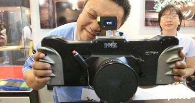 Çinliler 100 Megapiksel Kamera Üretti