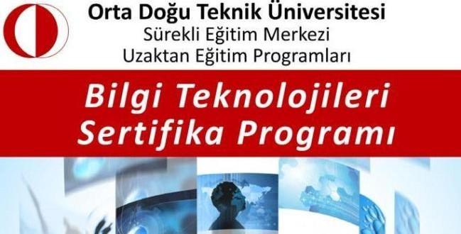 ODTÜ Bilgi Teknolojileri Online Eğitim Programı