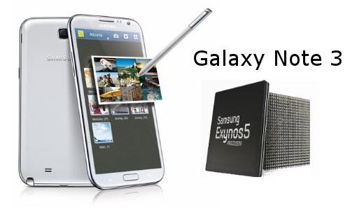 Galaxy Note 3 islemcisi