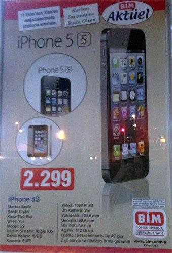 iPhone 5S en ucuz