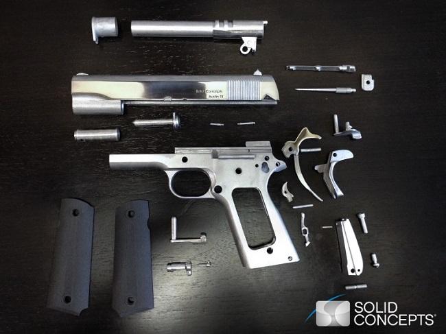3 boyutlu silah parcalari