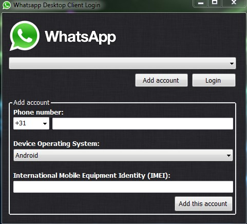 WhatsApp bilgisayar versiyonu