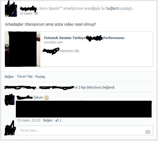 yeteken sizsiniz virusu facebook