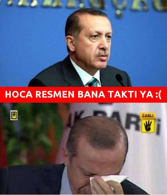 hoca bana takti erdogan