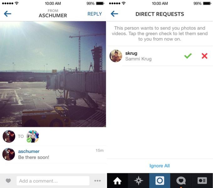 instagram direct ozelligi 1