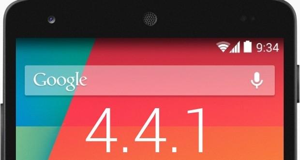 Android 4.4.1 Yayınlandı