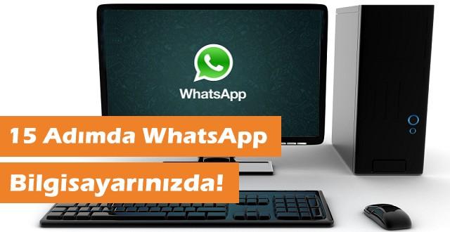 Bilgisayardan WhatsApp Çalıştırmak (Resimli)
