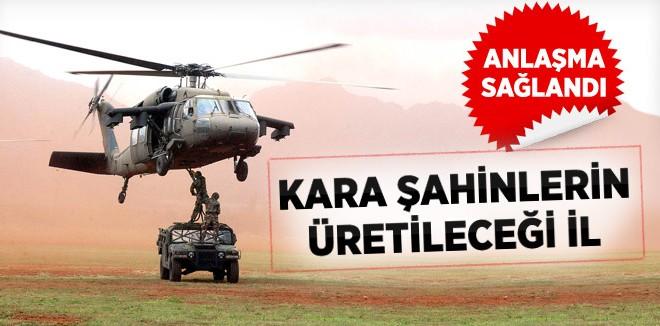 Sikorsky Helikopter Türkiye'de Üretilecek