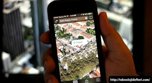 Apple, Harita Uygulamasına 3 Şehrin 3D Görüntüsünü daha Ekledi!