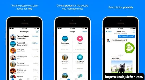 IPhone ve Android İçin Facebook Messenger v4: Gruplar, Mesaj Yönlendirme ve Daha Fazlası