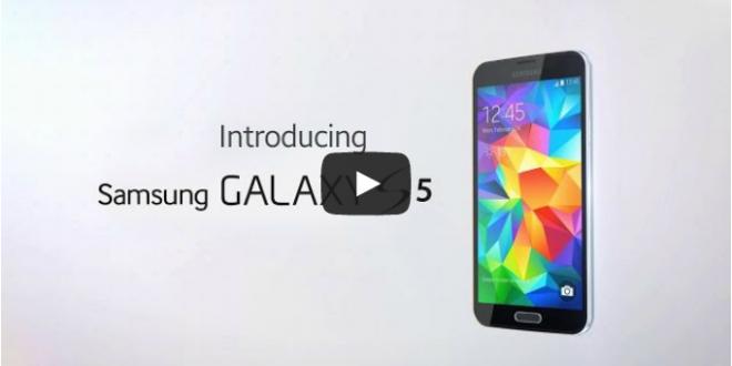 Samsung, Galaxy S5'in Tüm Özelliklerini İçeren İlk Videoyu Yayınladı