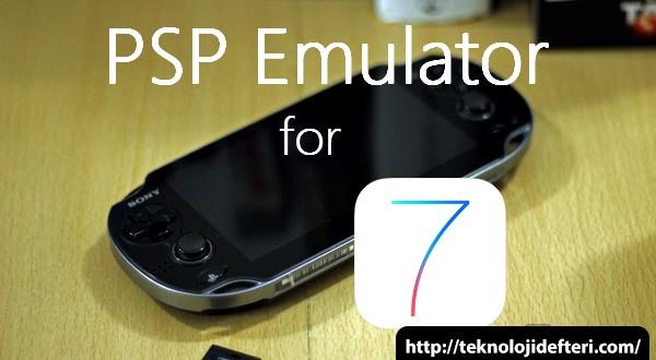 iPhone ve iPad iOS 7'de PSP Emulator Kurulumu (Video)