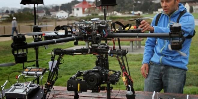 Drone ile İlk Kez 4K Video Kaydetmeyi Başardılar