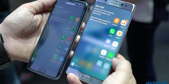 Samsung Galaxy Note S7 Vs. Samsung Galaxy Edge 7