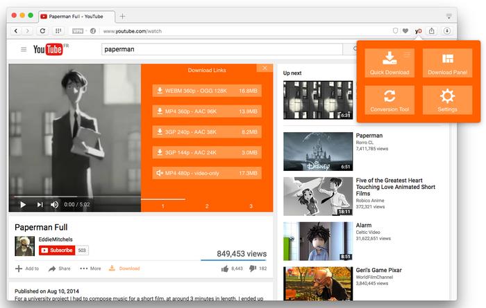 Mozilla Firefox'tan YouTube Videoları İndirme