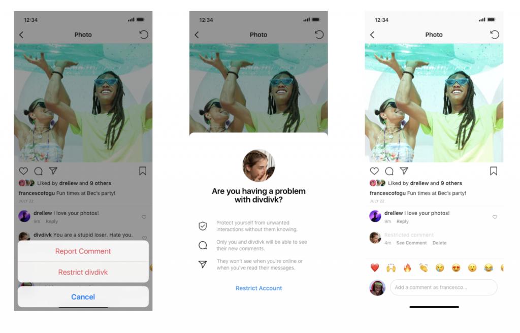 Instagram'da Hesap Kısıtlama Nasıl Yapılır?