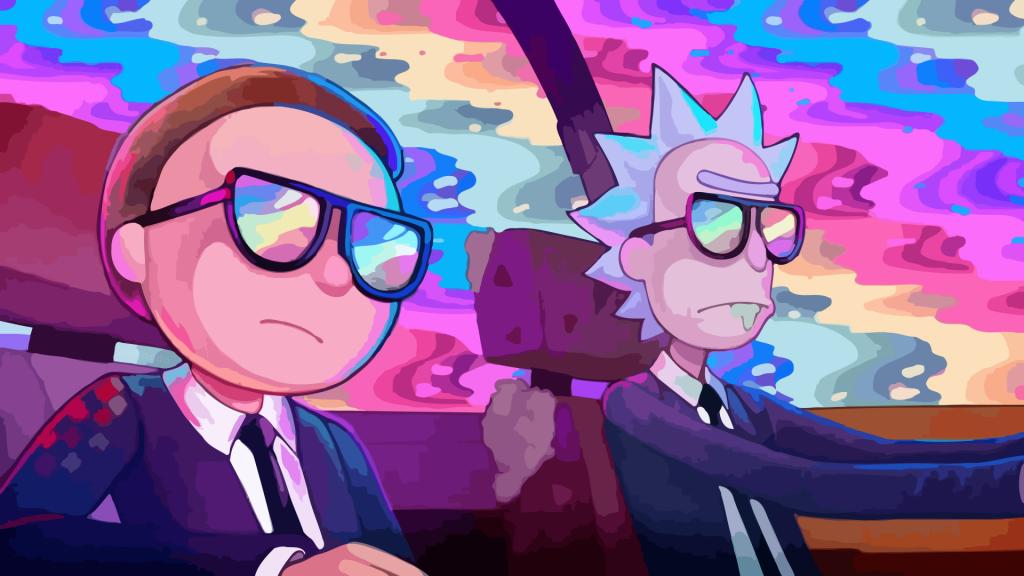 Rick and Morty Duvar Kağıdı
